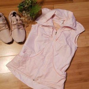 Light peachy pink vest